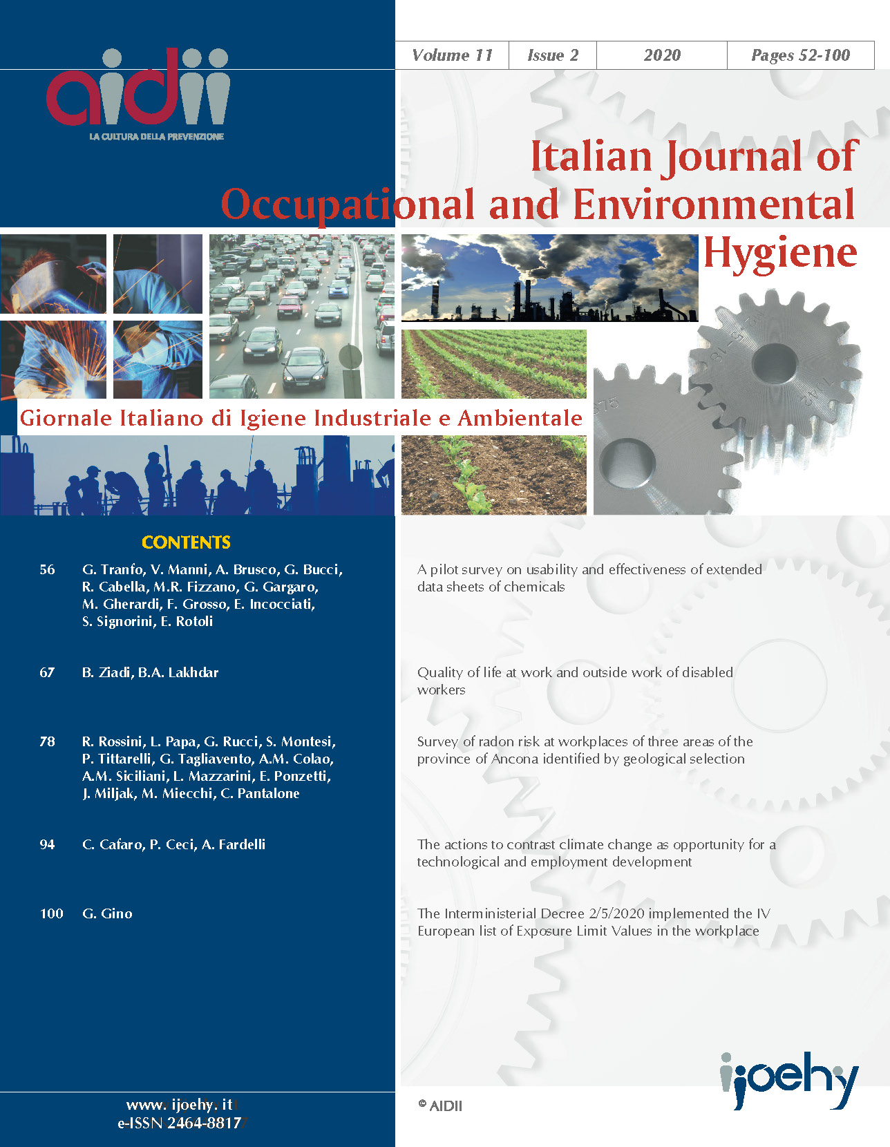View Vol. 11 No. 2 (2020): pages: 52-101
